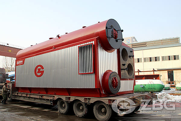 20 Ton Gas Steam Boiler in Paper Plant