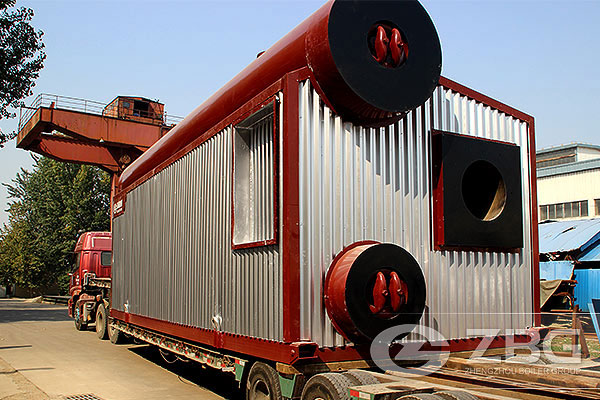 25 Ton Gas Fired Heating Boiler In Jianghan Oilfield
