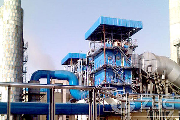 20 Ton Waste Heat Power Plant Boiler in Vietnam