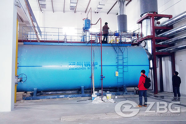 Types of Diesel Oil Boilers, oil fired boiler price, 1 ton - 130 ton ...