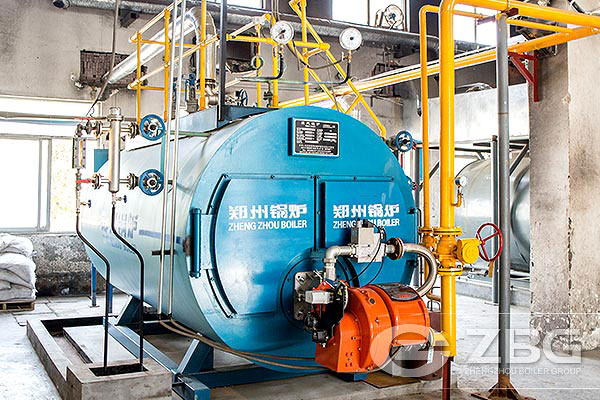 Gas fired boiler exported to Nigeria