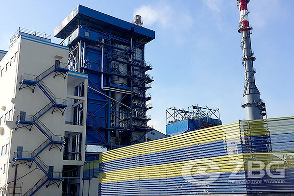 150t CFB Power Plant Boiler in Hebei