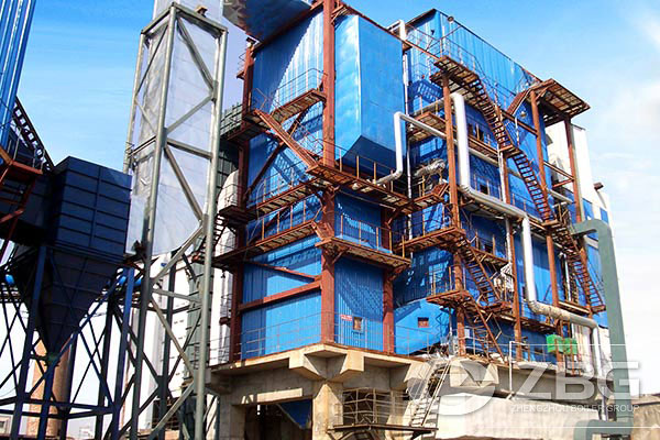 75 ton CFB steam boiler exported to Sri Lanka